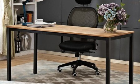 Get to work with the Need 63-inch office desk down to a low price of $91 today only