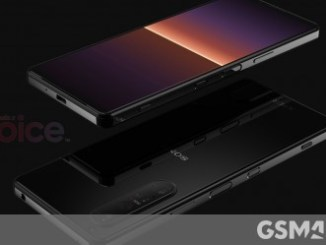 Gaze at the Sony Xperia 1 III in this short video that shows the phone spinning 360°