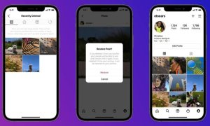 Instagram's new feature lets you restore your deleted photos and videos