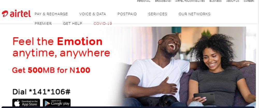 To Transfer Data On Airtel – 2021