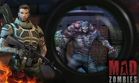 Mad Zombies Mod Apk Unlimited Money And Gold V5.27.0