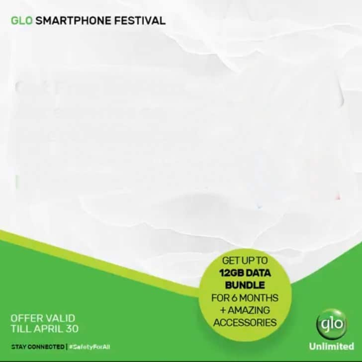 How To Get Glo 12GB Free Data Bundle For 6 Months