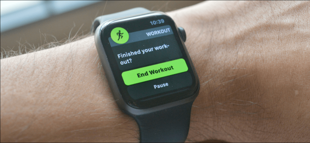 How to Turn off Start and End Workout Notifications on Apple Watch