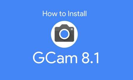 HOW TO INSTALL GCAM 8.1 MOD IN ALL ANDROID SMARTPHONES.