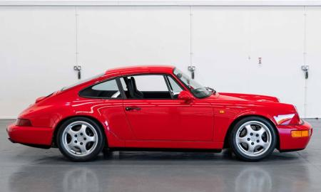 The 964-shape 911 is becoming an increasingly sought-after model, and this Carrera RS version is just one of 2,276 units built in its lifetime.
