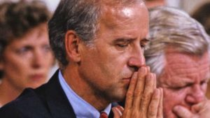 Former Vice President Joe Biden's handling of Anita Hill's sexual harassment allegation against then-Supreme Court nominee Clarence