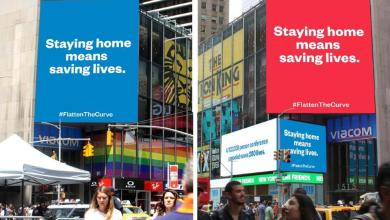 Photo of BREAKING! Reddit Cofounder Alexis Ohanian Bought A Billboard In Times Square To Inform People About COVID-19