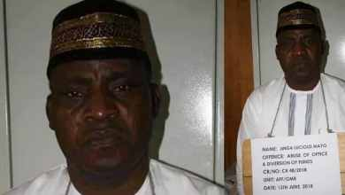 Photo of OMG! Bishop Sentenced to 5yrs in jail term for stealing N69m meant for pilgrimage to Israel