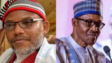 Photo of Buhari's nationwide broadcast was not done in Nigeria – Nnamdi Kanu