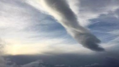 Photo of Hand Of God Seen Handing Down From The Sky – #Endtime