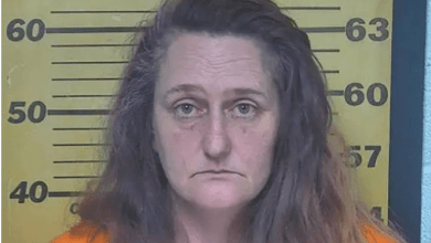 Photo of Woman Arrested & Charged For Telling 911 That Her P*ssy Was 'On Fire' During Covid-19 Lockdown