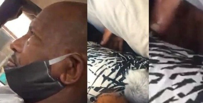 Elderly man caught red handed molesting a lady inside a moving bus A Nigerian man has been caught red handed on camera assaulting a lady in a public bus which was transiting