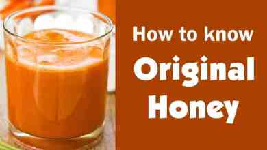 Photo of How To Know Fake And Original Honey.