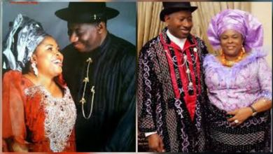 Photo of See how Dame Patience Jonathan met her husband, Ex President Goodluck Jonathan