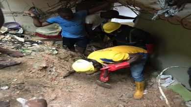 Photo of Two kids killed, 10 injured in Lagos building collapse