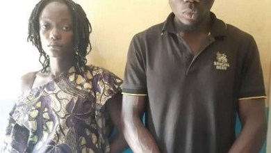 Photo of A Man and his wife inserted a bottle in His Ex-girlfriend's genitals