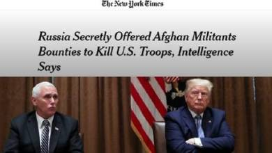 Photo of Trump & Pence never briefed on 'Russian bounties for Taliban', NYT story 'inaccurate