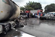 Photo of Petrol tanker explosion in Imo state leaves one dead and three others injured