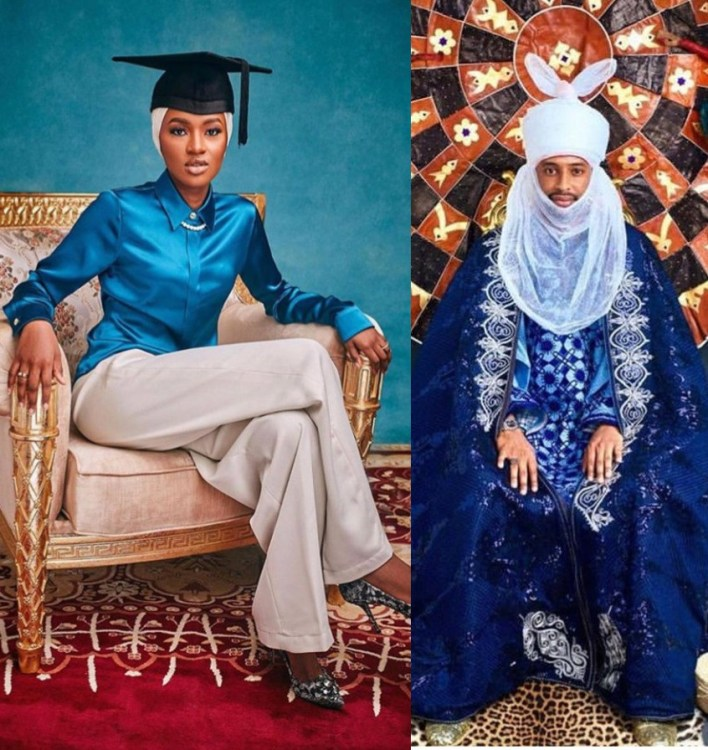 The invitation to the wedding fatiha between President Buhari's youngest daughter, Hanan, andTurad Sha'aban has been sent out. Themarriage is billed to take place on Friday, September 4, 2020. The venue for the wedding is the Presidential Villa, Aso Rock.