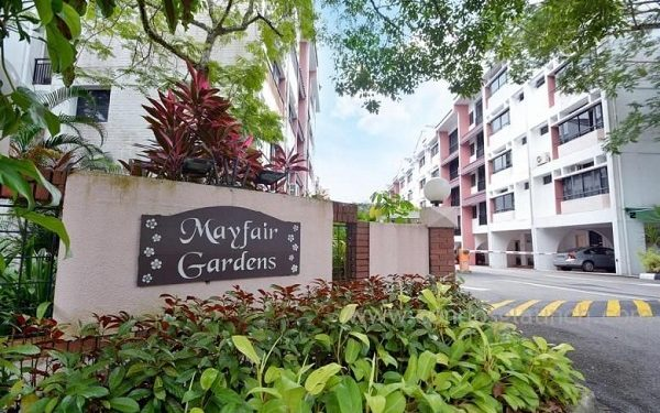 There Was No robbery at Mayfair Gardens.  They said there has never been a robbery incident since the inception of the neighbourhood In 2005.