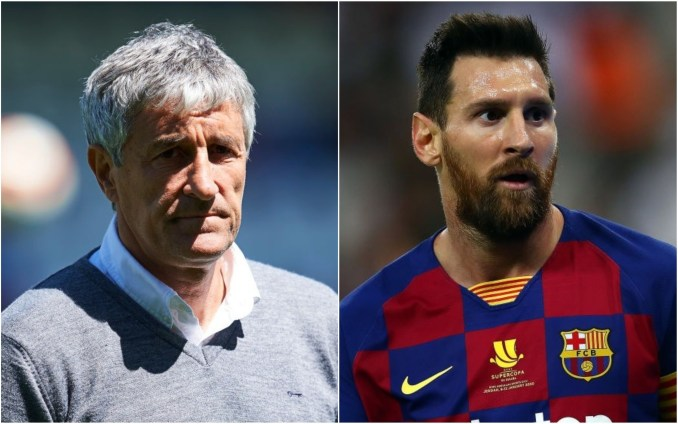 """""""Quique Setien And Lionel Messi Are Out"""", Barcelona President Confirms.  Barca were humiliated and embarrassed on Friday night as they suffered an 8-2 defeat at the hands of Bayern"""