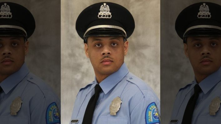 St. Louis police officer shot Dead.  A second officer who was shot in the leg was treated and released after the shooting around 6 p.m