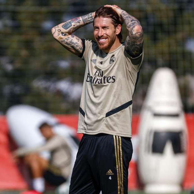 Sergio Ramos Wrote His End Of Season Message On Twitter