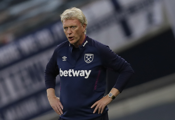 David Moyes Tested Positive. West Ham's medical team were informed of the test results while Moyes and his squad were at the