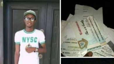 Photo of Frustrated graduate from Katsina reportedly sets all his certificates ablaze due to inability to secure a job
