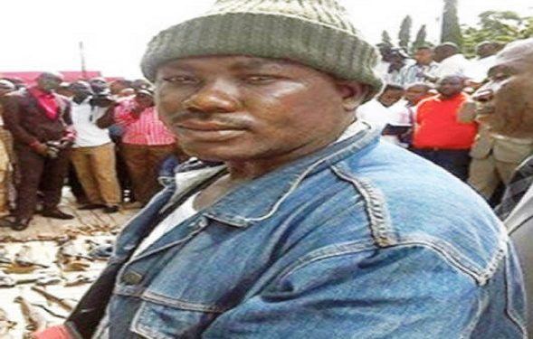 Gana The Most Wanted Benue gang leader surrenders.  He surrendered for the amnesty programme in Katsina Ala township stadium in Katsina Ala local government