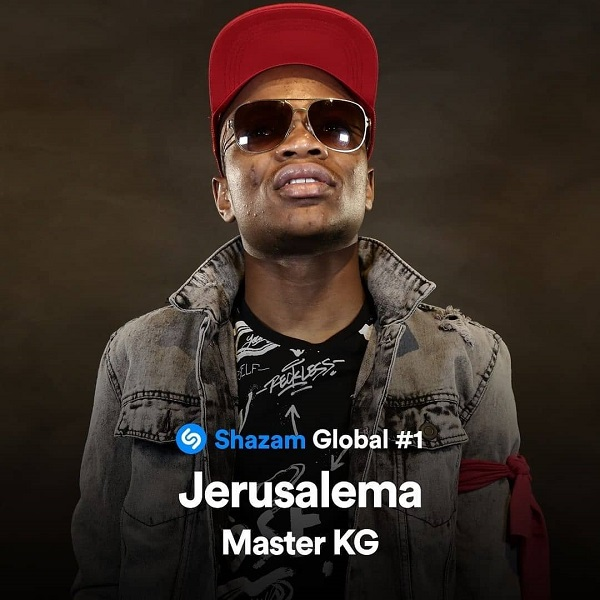 Master KG's Hit Song 'Jerusalema' Now Number One Global On Shazam.  South African sensation,Master KGkeeps establishing new records as his single dubbed