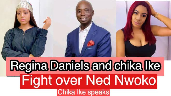 Regina's Husband Ned Nwoko Allegedly Caught In A S3xual Relationship With Actress Chika Ike (Video).  Country people naso we see am o. We heard that 34yr old Nollywood actress Chika Ike