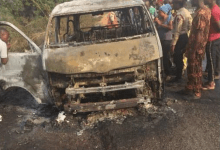 Photo of 8 burnt to death in Lagos-Ibadan expressway accident