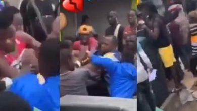 Photo of #EndSars: Drama as man catches 'business partner' at protest ground, after he ran away with his money (Video)