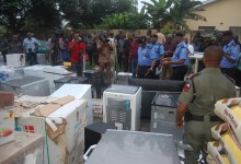 Photo of #EndSARS: Police arrest 10 suspects in Akwa Ibom, recover looted properties worth millions of Naira