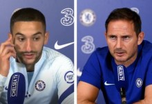 Photo of Frank Lampard says it has been 'difficult to integrate' Hakim Ziyech into the Chelsea team.