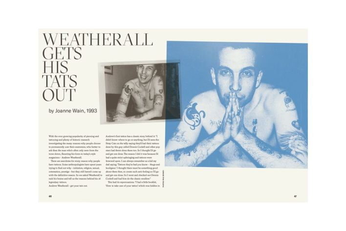 Andrew Weatherall – A Jockey Slut Tribute is a new book paying homage to the late British DJ and music producer who passed away earlier this year.