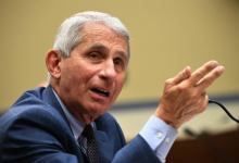 Fauci: 'I don't socialize. It's my wife and I and the federal agents'
