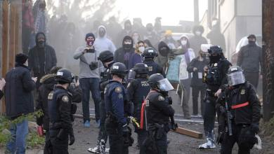 Portland Protesters Violently Clash with Police Over 'Red House' Eviction