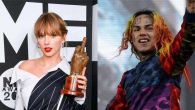 Taylor Swift Breaks 6ix9ine's Hot 100 Record With Stunning Fall From #1