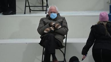 Bernie Sanders Wears Parka With Mittens To Inauguration & Memes Take Off