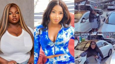 Dorathy laments over parking space while visiting Mercy Eke (Video)