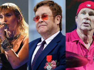 Elton John, Chad Smith and more to appear on Miley Cyrus' Metallica covers album