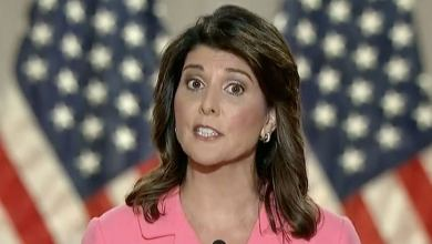In calling out Trump, Nikki Haley warns of a more sinister threat
