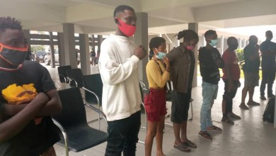 Photos: Court sentences 17 persons to community service for violating COVID-19 protocols in Edo