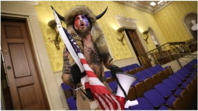'QAnon shaman' refusing to eat after arrest stemming from Capitol rioting