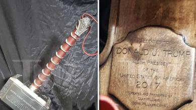Trump Fails to Send 'Thank-You' Note for Thor Hammer Gift