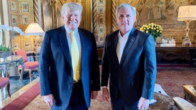 Trump touts 'cordial' meeting with McCarthy in Florida