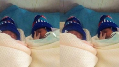 Woman Welcomes Twins After 13 Years Of Marriage (Photo)