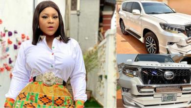Destiny Etiko acquires brand new SUV with customized plate 'Drama Doll'